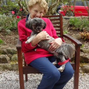 Mima And Matilda Enjoying A Cuddle After An Enjoyable Day Out.