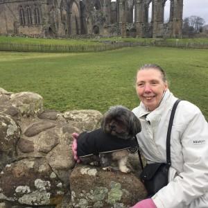 Carole Enjoying A Trip To Bolton Abbey With Matilda